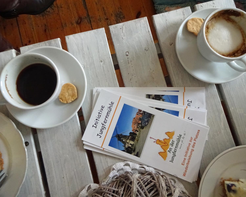 Erzählcafé im Natürlich & Schön in der Rudower Straße 51