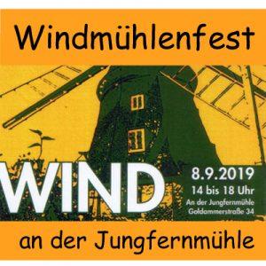 Windmühlenfest @ An der Jungfernmühle